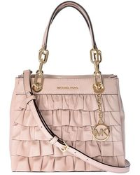 Michael Kors - Pink Cynthia Shoulder Bag - Lyst