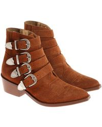 Toga Pulla - Texan Ankle Boots - Lyst