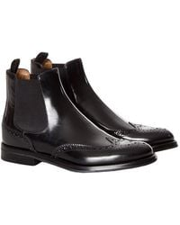 Church's - Leather Boots - Lyst