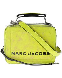 5f576d3636 Marc By Marc Jacobs - The Mini Box Bag In Bright Yellow - Lyst