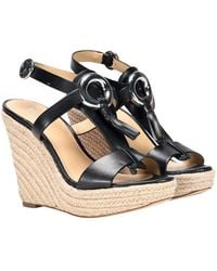 Michael Kors - Darien Wedge Sandals - Lyst