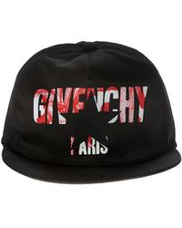 Givenchy - Black Cap With Logo - Lyst