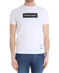 Paolo Pecora - White Positive Spirit T-shirt - Lyst