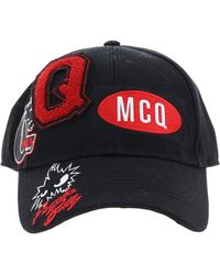 McQ - Billy Psycho Cap In Black - Lyst