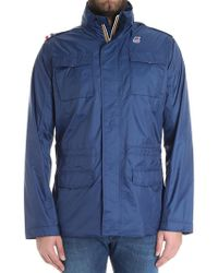 K-Way - Blue Manfield Jacket - Lyst