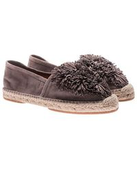 Chie Mihara - Lilac Suede Espadrilles - Lyst