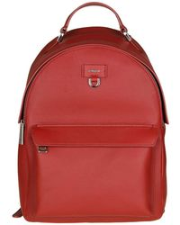 """Furla - Red """"favola"""" Backpack - Lyst"""