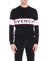 Givenchy - Logo Wool Jumper - Lyst