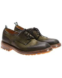 Green George - Suede Derby Shoes - Lyst