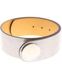 L'Autre Chose - Silver Iride Belt - Lyst