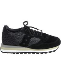 "Saucony - ""jazz Original Triple"" Black Sneakers - Lyst"