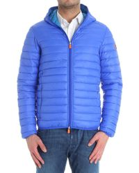Save The Duck - Blue Electric Padded Jacket - Lyst