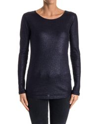 Majestic Filatures - Cotton, Cashmere And Silk T-shirt - Lyst