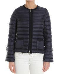 Moncler - Almandin Blue Down Jacket - Lyst