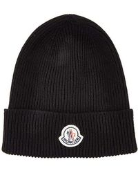 Moncler - Wool Watch Hat - Lyst