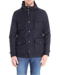 Paul & Shark - Blue Typhoon Fabric Jacket - Lyst