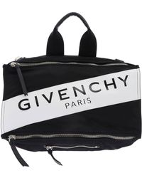 7e76361084 Givenchy Magnolia & Butterfly Small Pandora Messenger - Lyst