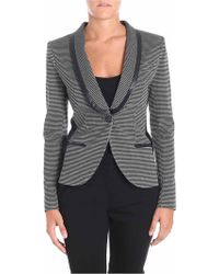 Pinko - Houndstooth Fabric Grattugia Jacket - Lyst