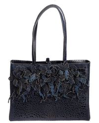 Almala - Leather And Calf Hair Bag - Lyst