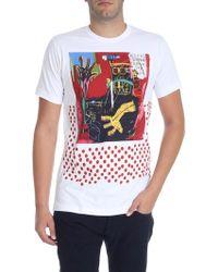 """Comme des Garçons - T-shirt manica corta """"Basquiat"""" - Lyst"""