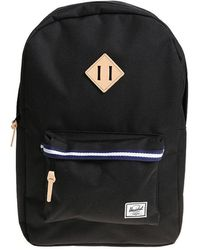 Herschel Supply Co. - Black Heritage Backpack - Lyst