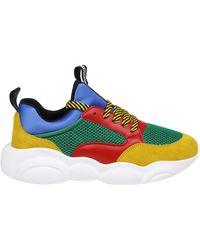 10e7f654c9422 Moschino - Multicolor Teddy Bear Sneakers - Lyst