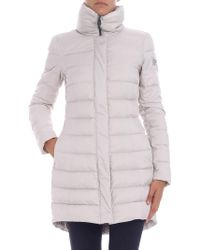 """Peuterey - """"sobchak Mq"""" Ice-colored Down Jacket - Lyst"""