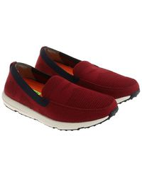 Swims - Burgundy Breeze Leap Knit Penny Moccasins - Lyst