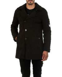 "Stone Island - ""david-tc"" Black Jacket - Lyst"