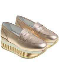 Hogan - Pink H222 Loafers - Lyst
