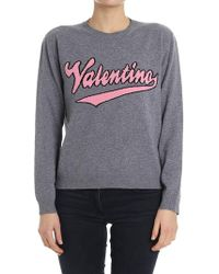Valentino - Wool And Cashmere Sweater - Lyst