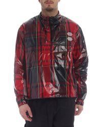 1f8edb36cf6 Off-White c o Virgil Abloh - Red Technical Fabric Jacket With Tartan Motif