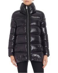 Add - Black Quilted Down Jacket - Lyst
