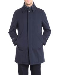 Herno - Blue Tech Padded Coat - Lyst