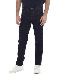 Trussardi - Blue Cotton Jeans - Lyst