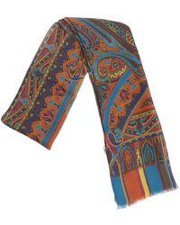 Etro - Sciarpa Shaal-Nur multicolor - Lyst