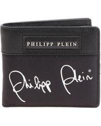 Philipp Plein - Clark Black Wallet - Lyst