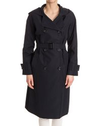 Cinzia Rocca - Double-breasted Trench Coat - Lyst