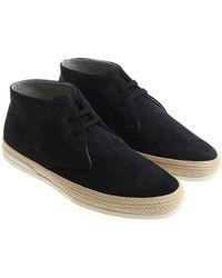 Hogan - Blue H358 Desert Shoes - Lyst
