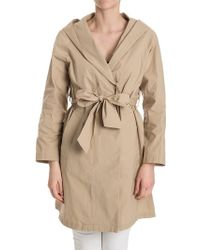 Ottod'Ame - Stretch Cotton Overcoat - Lyst