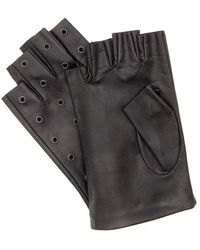 Karl Lagerfeld - Leather Gloves - Lyst