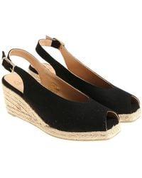 Castaner - Black Dosalia Sandals - Lyst