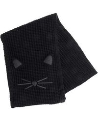 Karl Lagerfeld - Knitted Scarf - Lyst