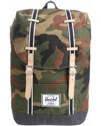 """Herschel Supply Co. - Zaino """"Retreat"""" camouflage - Lyst"""