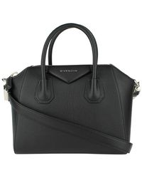 Givenchy - Black Leather Antigona Bag - Lyst