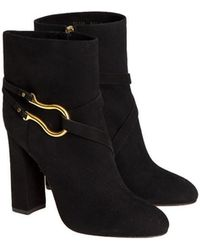 Santoni - Suede Boots - Lyst