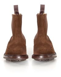 Tricker's - Leather Boots - Lyst