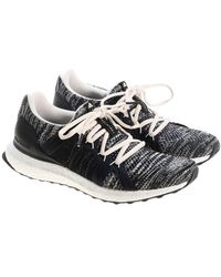 afeb1522a51 adidas By Stella McCartney - White And Black Ultraboost Parley Sneakers -  Lyst