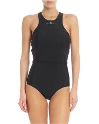 adidas By Stella McCartney - Black Econyl® Swimwear - Lyst