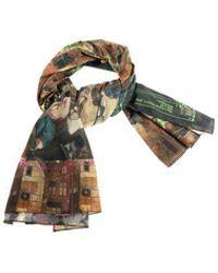 Vivienne Westwood - Bruegel Unisex Cotton Scarf - Lyst